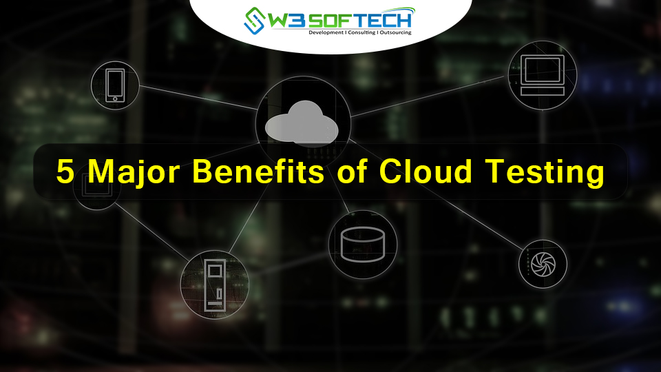 5 Major Benefits of Cloud Testing - W3Softech