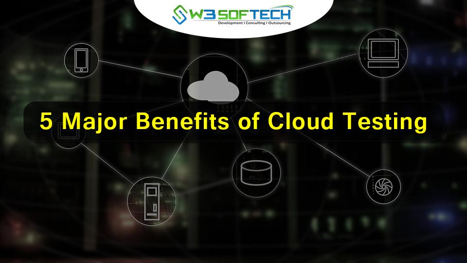 5 Major Benefits of Cloud Testing - W3Softech